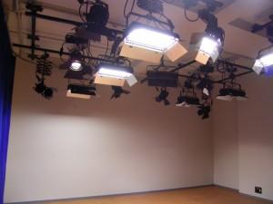 スタジオ内風景